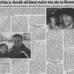 Žilinský večerník - článok o stránke Jánošík vo filme